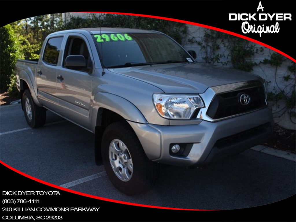 Pre Owned 2015 Toyota Tacoma 4d Double Cab In Columbia P4481 Dick Low Tire Pressure Warning Light